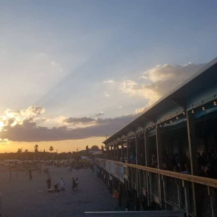 Cocoa Beach Pier{Florida}