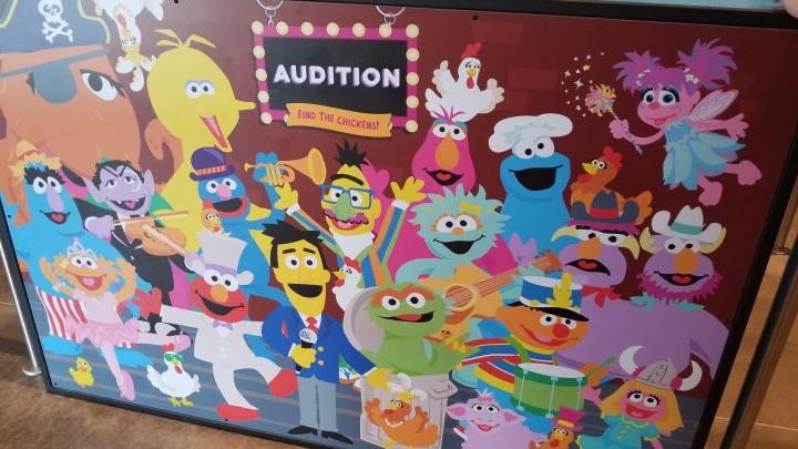 Sesame Street- Sea World{Florida}