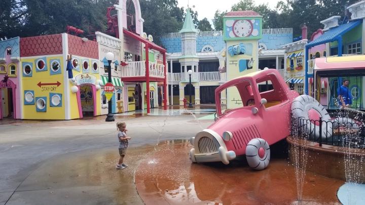 Fieval and Curious George- Universal Studios{Florida}