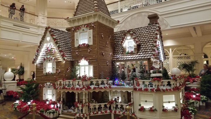 The Gingerbread House- The Grand Floridian Resort{Florida}