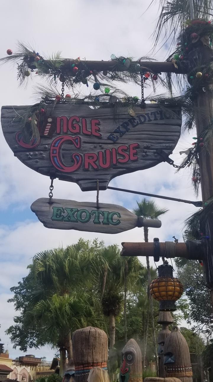 Jingle Cruise- Magic Kingdom{Florida}