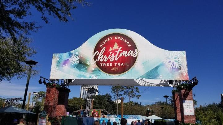 Christmas Tree Trail- Disney Springs{Florida}