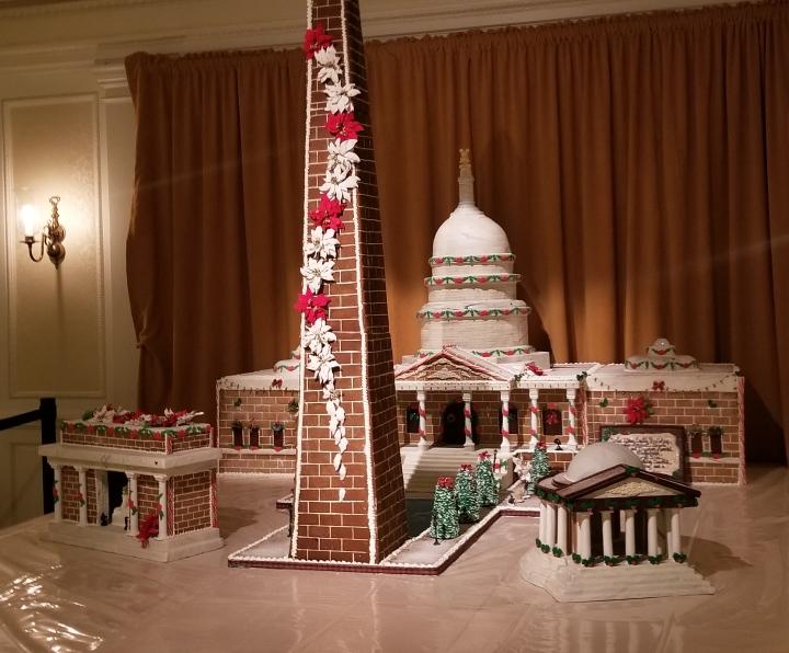 Gingerbread US Capitol- Epcot{Florida}