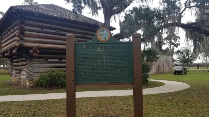 Fort Christmas Historical Park{Florida}