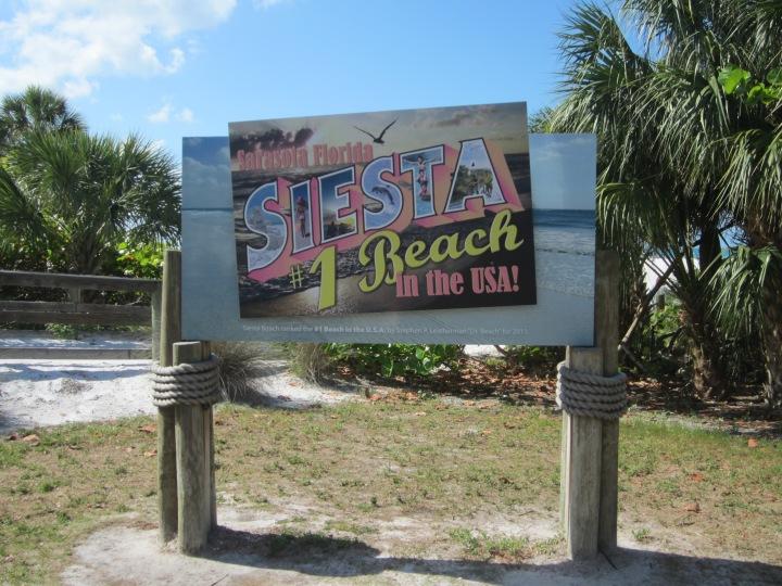 Siesta Key Beach{Florida}
