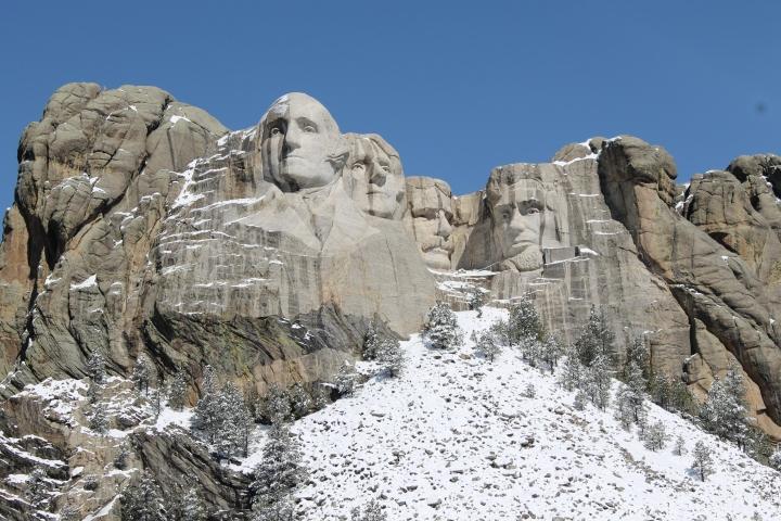 Mount Rushmore National Monument {SouthDakota}