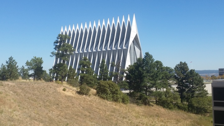 Cadet Chapel- Air Force Academy{Colorado}
