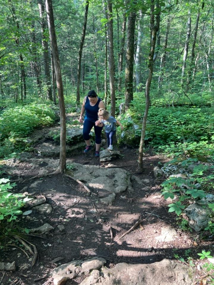 Knob Trail/ Rock Trail- Barfield Cresent Park{Tennessee}