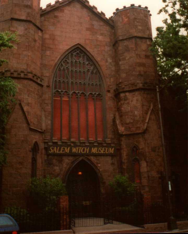 Salem Witch Museum{Massachusetts}