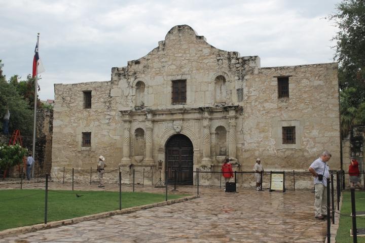 The Alamo {Texas}