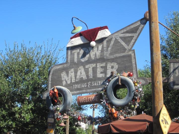 Holidays in Radiator Springs- California Adventure{California}