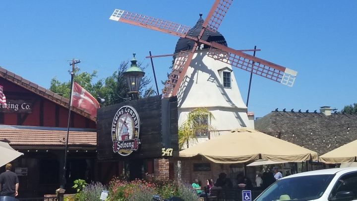 The Danish Community of Solvang{California}