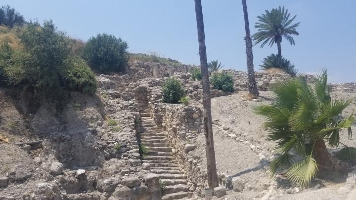 {Israel} Day 2: Caesarea National Park, Tel Megiddo National Park, &Safed