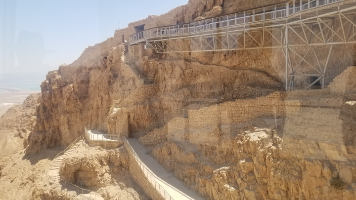 {Israel} Day 5: Beit She'an National Park & Masada NationalPark