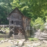 The Old Grist Mill-Babcock State Park {West Virginia}