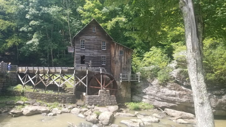 The Old Grist Mill-Babcock State Park {WestVirginia}