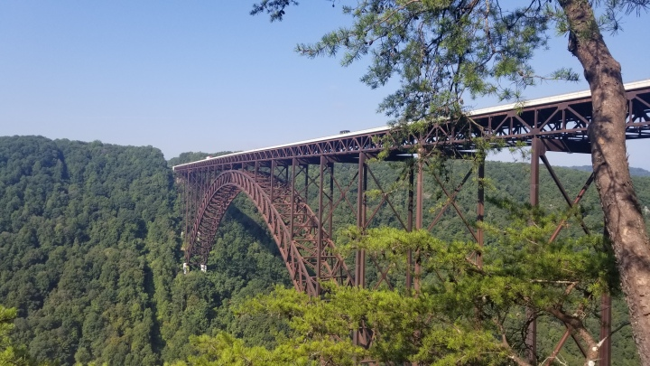 Visiting America's Newest National Park- New River Gorge {WestVirginia}